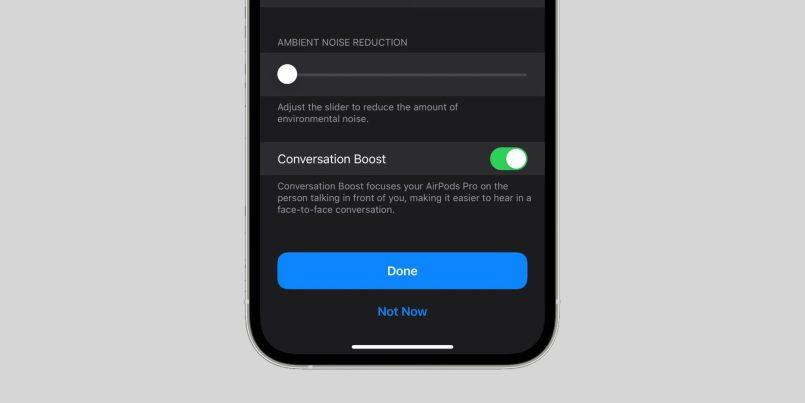 """""""Conversation Boost"""" Untuk AirPods Pro Kini Boleh Digunakan Oleh Semua Pada iOS 15"""