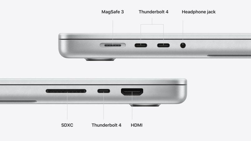 Macbook Pro Baharu Tidak Dilengkapi Port USB-A